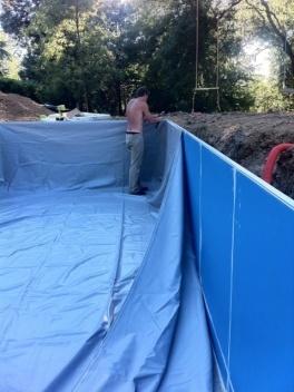 Aquadiscount piscines en kit abris piscine s curit for Liner piscine turquoise