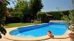 Les piscines rectangulaires arrondies