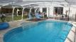 piscine + abris haut
