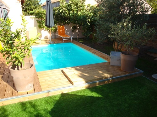 Forme rectangulaire for Piscine 3x3