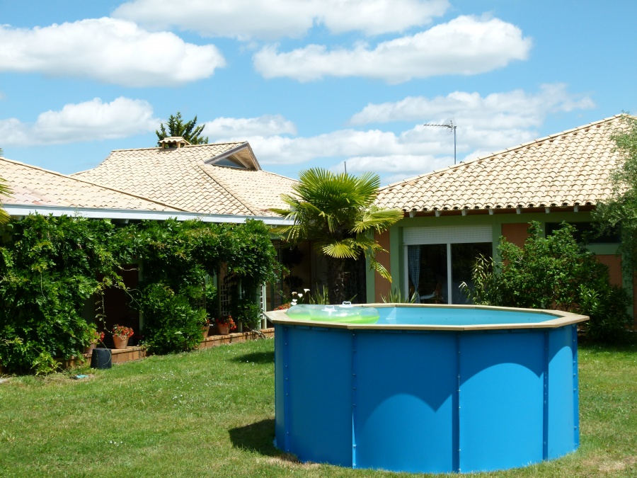 Piscine hors sol for Piscine hors sol enterrable