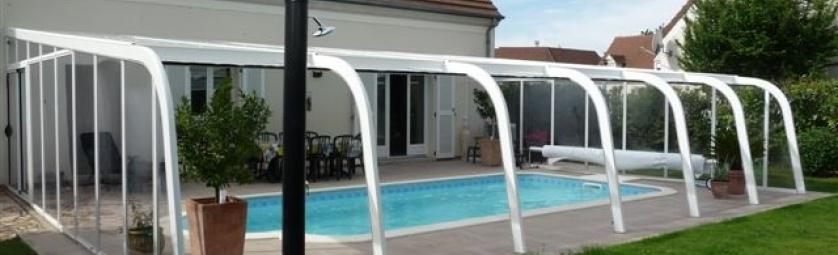 Piscine abri adoss - Abri piscine adosse maison nanterre ...