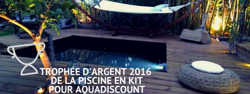 2016 : L'ANNÉE DE LA  CONSÉCRATION  POUR AQUADISCOUNT