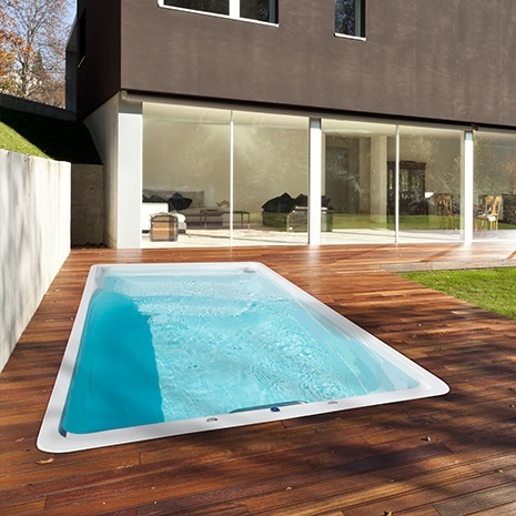 L 39 aqua coq for Prix piscine spa