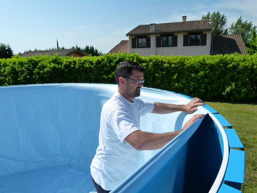Piscine hors sol for Piscine bois enterrable