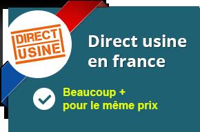 Direct usine en France